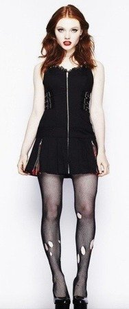 Sukienka marki Hell Bunny. Bad girl dress.